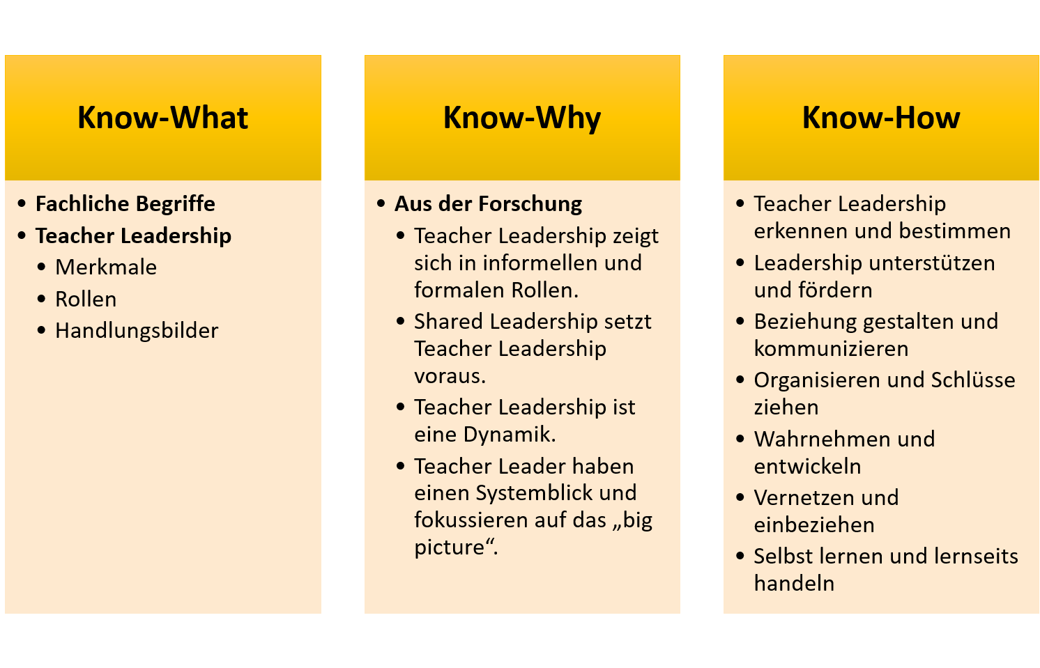 Themenraum TeacherLeadership Überblick